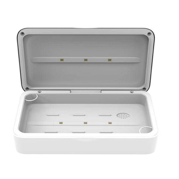 Wireless charging sterilizer box
