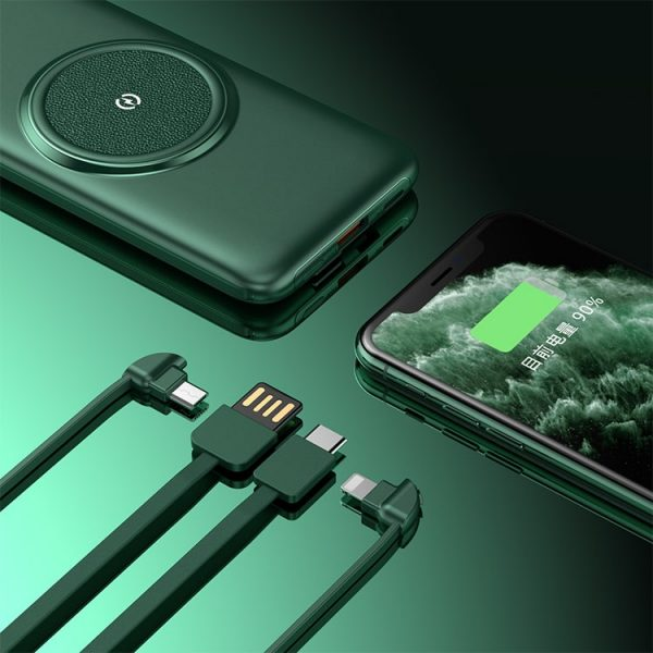 Built in cable power bank